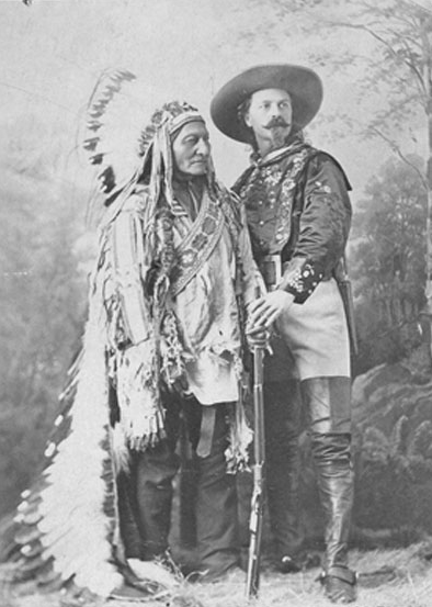Sitting Bull en Buffalo Bill - 1885